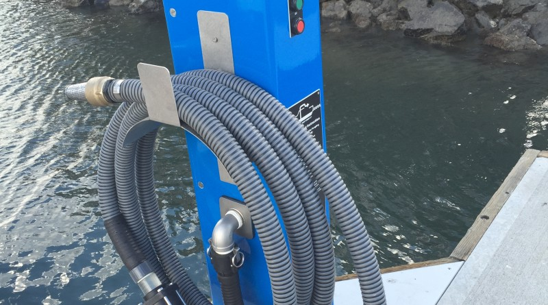 Oceanside's new bilge pumpout open to boaters