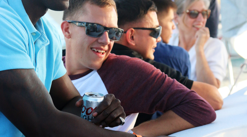 Marines enjoy Balboa YC Beer Cans Regatta