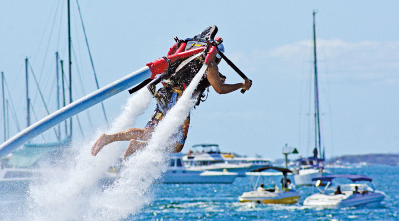 Companies bid for public dock, jetpack contracts