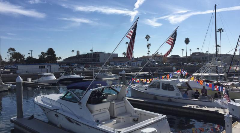 A 23-slip marina highlights Newport Beachs Marina Park. Parimal M. Rohit photo.