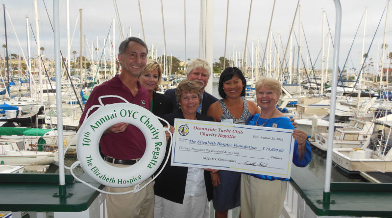 Oceanside YC hosts annual Elizabeth Hospice Charity Regatta