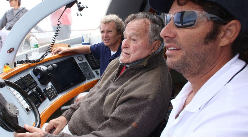 Former Pres. Bush sails aboard Impossible Dream