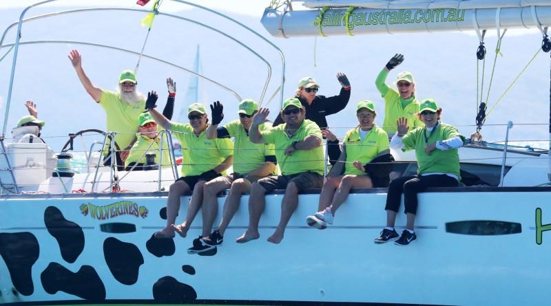 Yacht racing 'downunder' Australian style