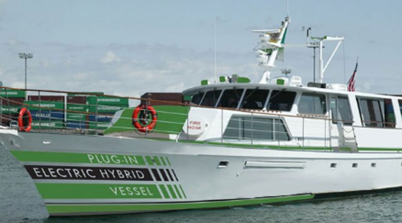 Angelena II sold, to be converted into hybrid vessel