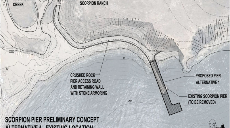 Public comment wanted on plan for new pier at Santa Cruz Island