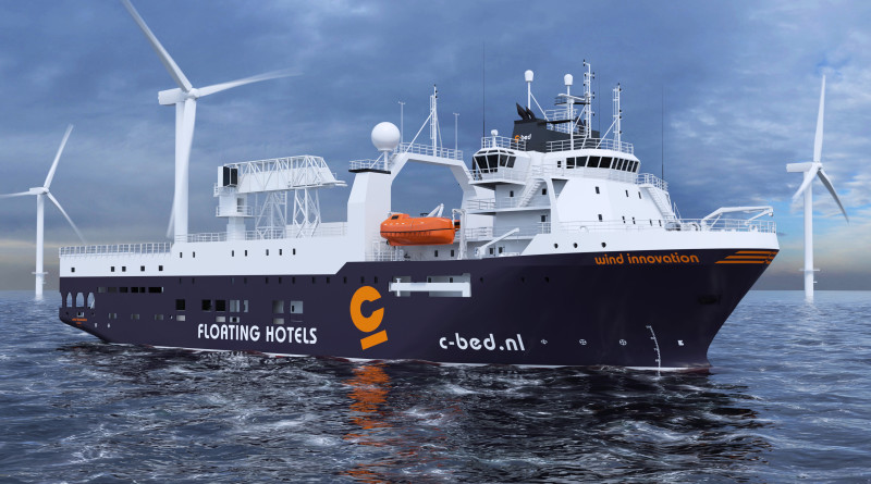 Survey vessel will be rebuilt as hotel vessel