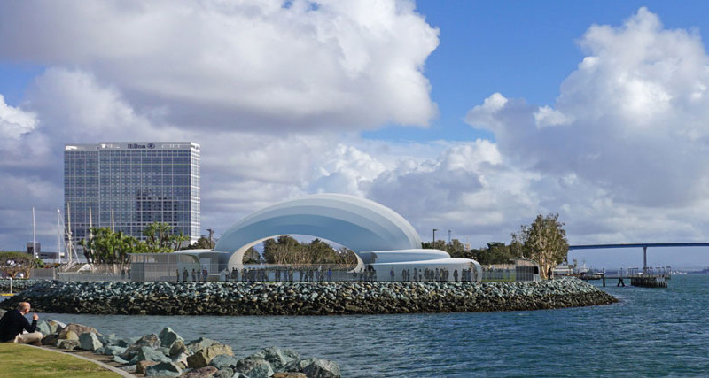Port of SD hopes marina concert hall will become a postcard venue