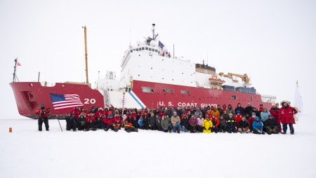 USCG reaches North Pole in historic expedition