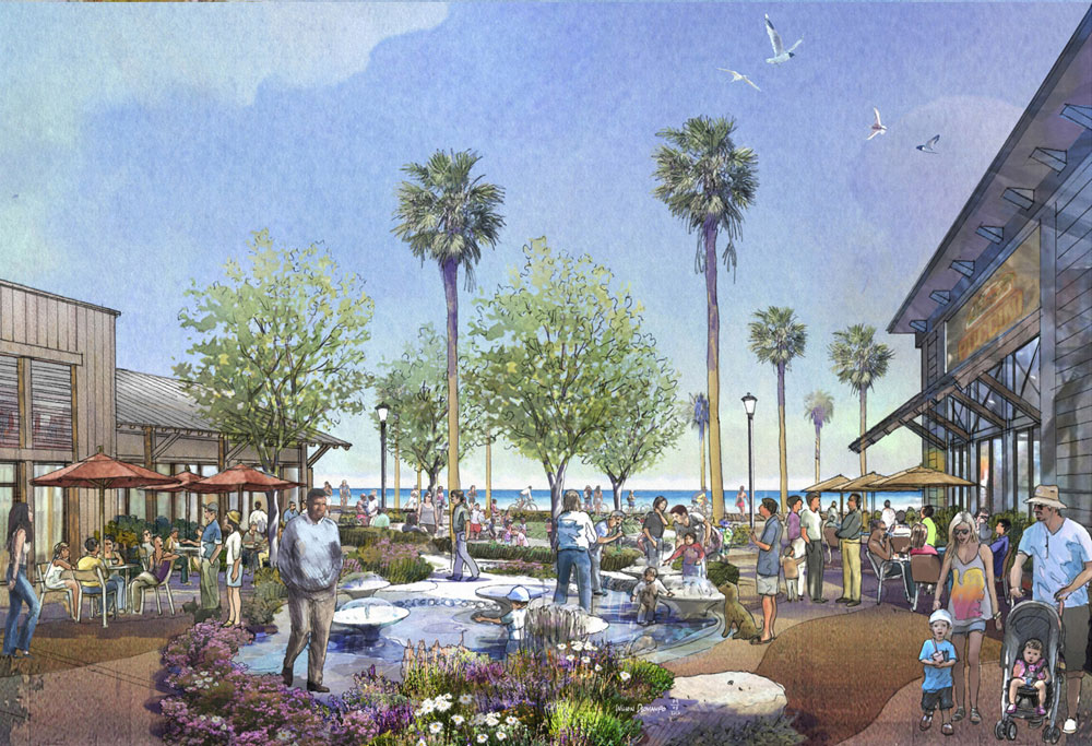 Redondo Beach waterfront revitalization