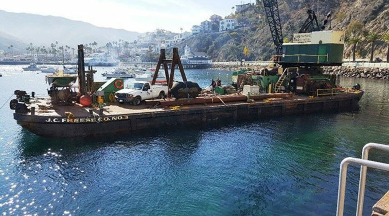 Work begins on new Avalon Fuel Dock
