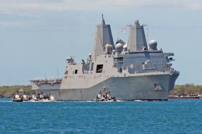 USS New Orleans Makes Stop in Seal Beach