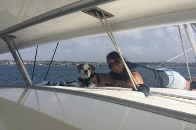 Dog Aboard: Duncan