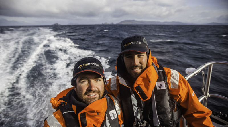 Team Alvimedica shares race experiences with Newport Beach sailors