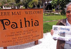 Sailors discovering New Zealand