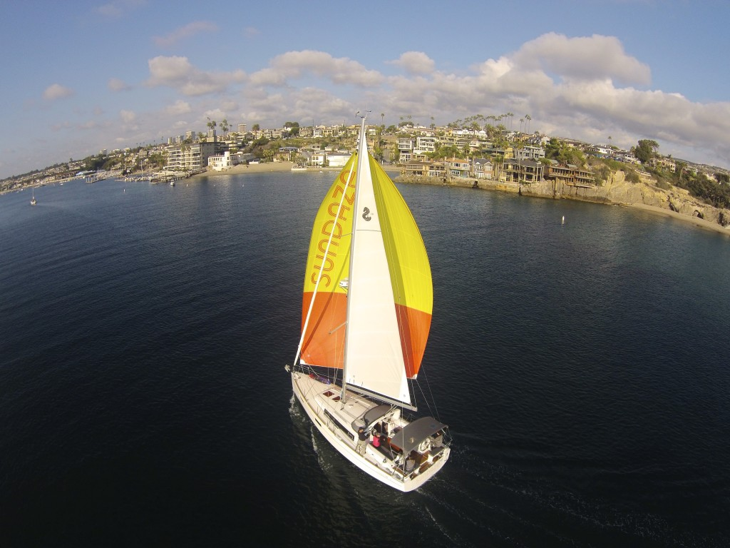 Sundaze, a Beneteau Oceanis 38 owned by Bob Siemon will hit the race course on April 22. Jody Krimstock photo.