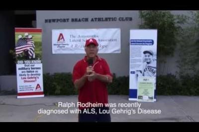 Ralph Rodheim - ALS Ice Bucket Challenge - Newport Beach, CA