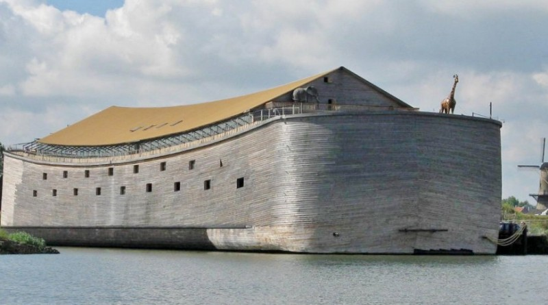 Californians may have an opportunity to board and tour the 410-foot Ark of Noah if enough money is raised to allow the vessel to go on a worldwide tour. Photo courtesy of Ark of Noah Foundation