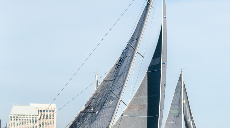 Sailboats will take over San Diego Bay once again as part of the 37th annual Beer Can Race Series.Cynthia Sinclair photo