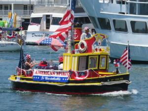 Boat owners throughout Orange County are invited to participate in the American Legion Yacht Club's annual Old Glory Boat Parade on July 4.Photo courtesy of American Legion Yacht Club