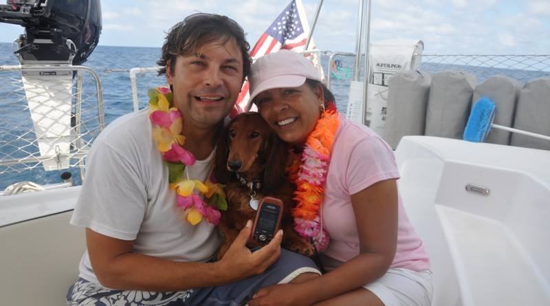 Dietmar Putschnig and his wife Suzanne DuBose embarked on a seven-year sail from San Diego to the South Pacific in 2008. Their dog, Vienna, joined them on the trip.Dietmar Petutschnig photo