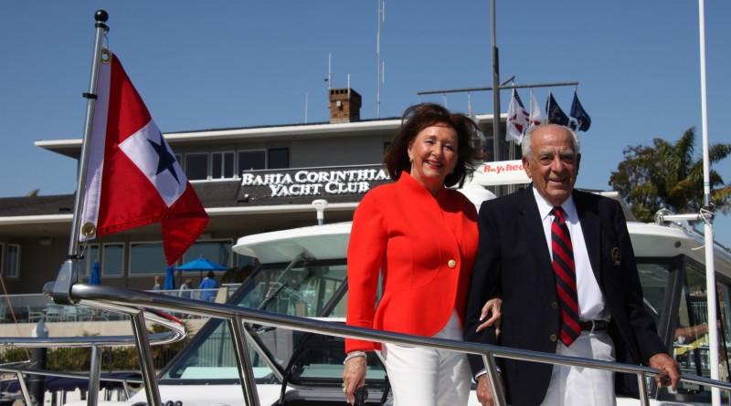 Catherine and Jim Emmi. Photo courtesy of Bahia Corinthian Yacht Club