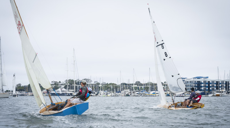 The June 4 Wooden Race Regatta was only the first of two races that are part of the event hosted by Snipe Fleet 24. The second race will be held July 24. Madoka Hamlin photo