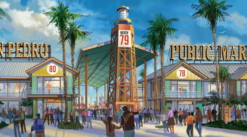 Ports O' Call Village will be transformed into a public marketplace and a destination for boaters, tourists and locals. The village will be renamed the San Pedro Public Market.