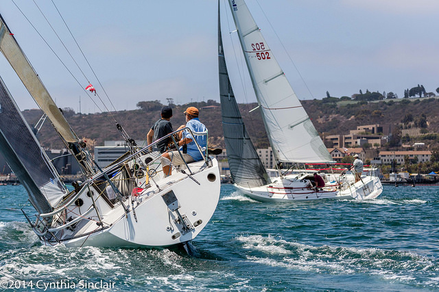 More than 40 boats are expected to race in the Crew of Two Offshore Race hosted by Point Loma Yacht Club.Cynthia Sinclair photo
