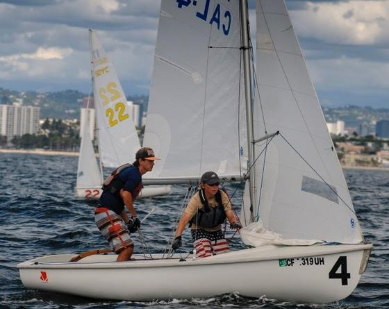 Close to 300 young sailors will compete in the Junior Olympics Festival's regattas that will be held at California Yacht Club July 14-17. Cal YC photo