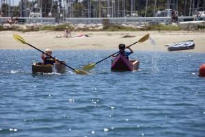 (2) kardboard kayak
