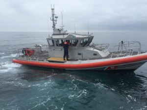 The U.S. Coast Guard was not too far behind Valkyrie in helping two stranded boaters and their dog find safety after their boat caught fire. Private boaters can often complement the Coast Guard in helping save other distressed boaters.Capt. Tom Petersen photo