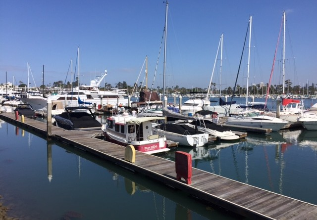 Glorietta Bay Marina's Dock C and the boat launch ramp are scheduled for improvements to replace the deteriorating wood infrastructure.Parimal M. Rohit photo