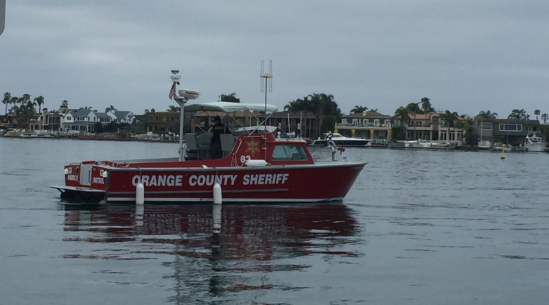Newport Beach Harbor Patrol. Parimal M. Rohit photo
