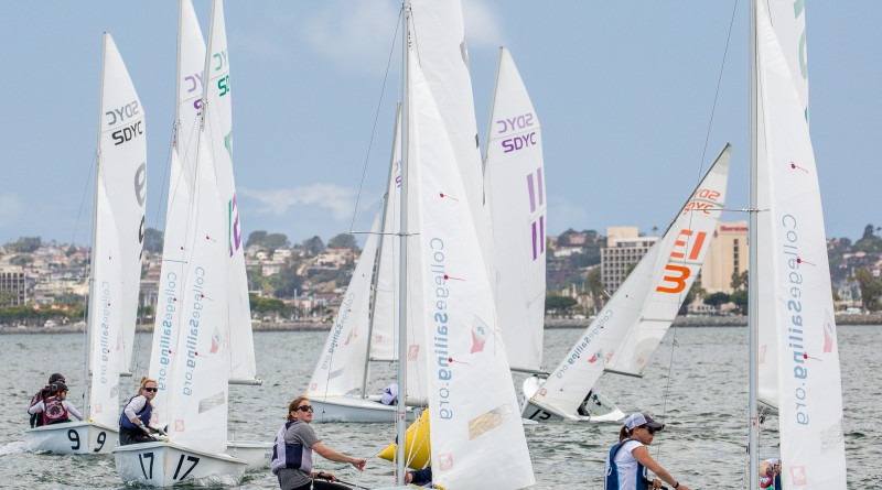 Race Results: SD hosts ICSA Sperry Women's National Championships.  Cynthia Sinclair and Stacy Childers photo