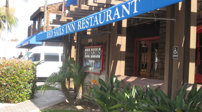 Red Sails Inn Restaurant, a landmark eatery for mariners on Shelter Island Drive in San Diego, will close its doors to patrons on Aug. 31. Brigantine Inc. will take over the lease on Sept. 1 with plans to reopen the restaurant as Ketch Grill and Tap.Ambrosia Brody photo