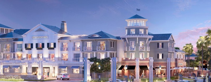 The Lido House Hotel will feature several amenities for guests and locals such as open space, meeting rooms and a spa.