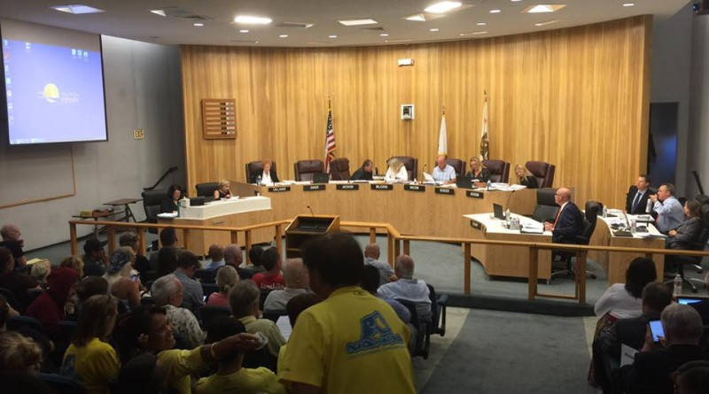 The Redondo Beach Harbor Commission was a jam packed meeting as the commission deliberated the controversial waterfront redevelopment project.Parimal M. Rohit photo