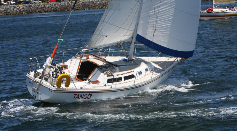 Jeff Rodriguez represented Southwestern Yacht Club in the George Gray Singlehanded/Dloublehanded race, taking second in the Single Division on his boat, Tango.