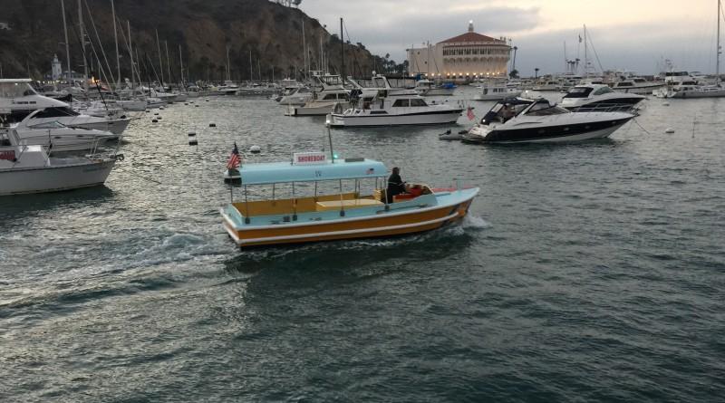 Avalon shoreboat