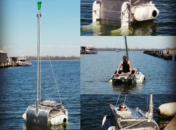 smallest sailboat to make world record