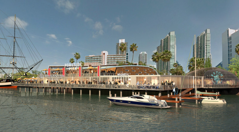 brigantine port of san diego rendering