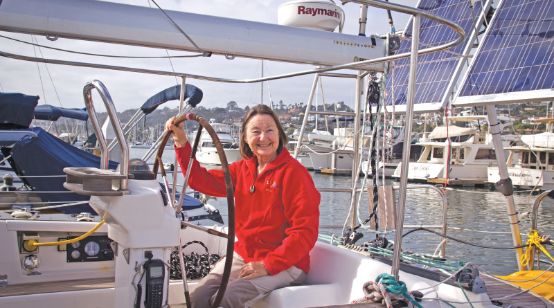 Jeanne Socrates oldest woman to sail around the world alone