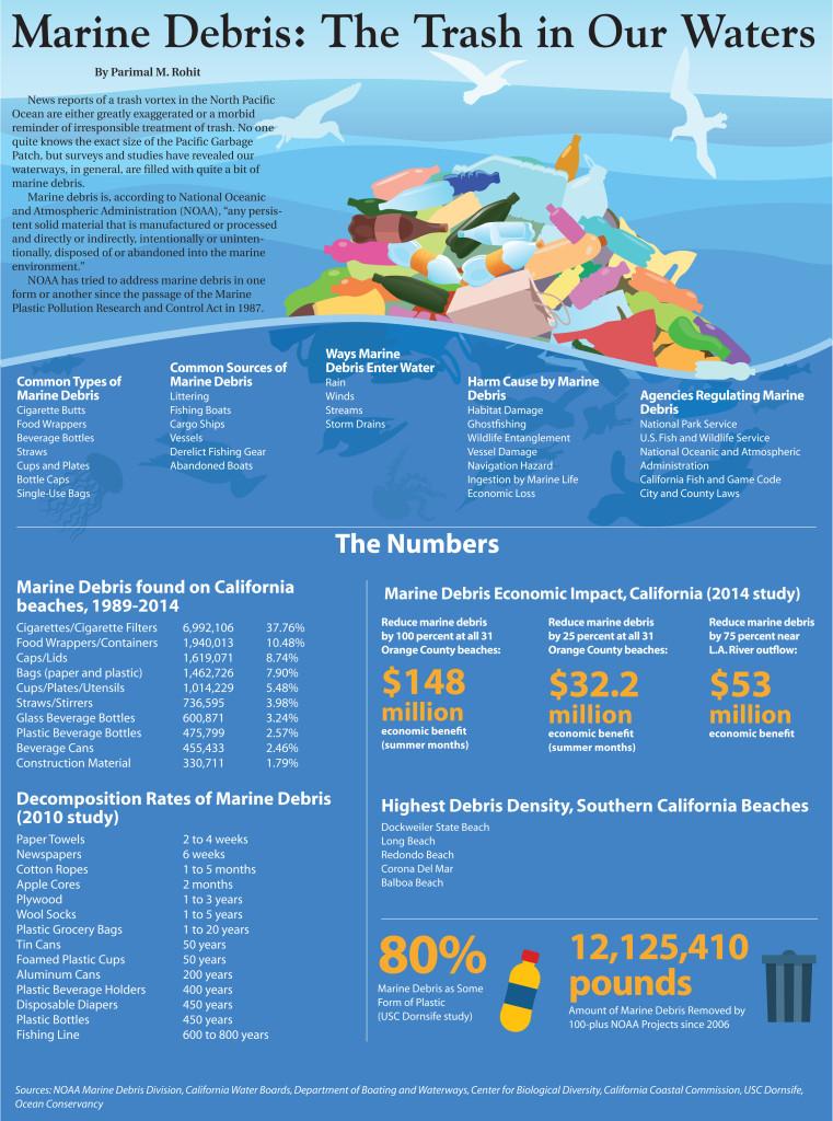 marine debris infographic