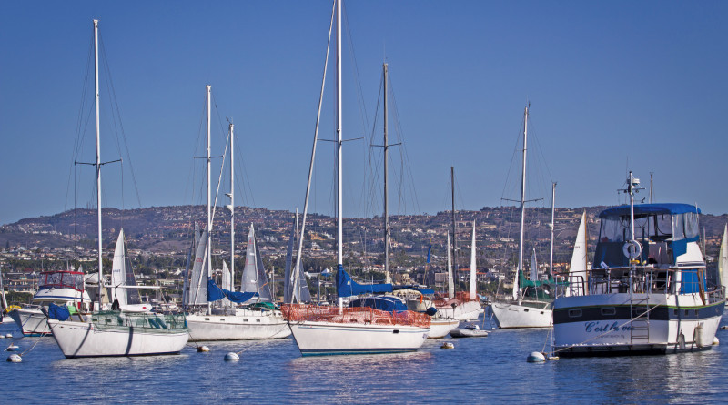 Newport Beach harbor tour