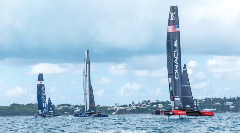 America's Cup sailing competition in Bermuda