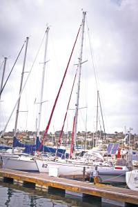 jeanne socrates sailboat a Najad 380