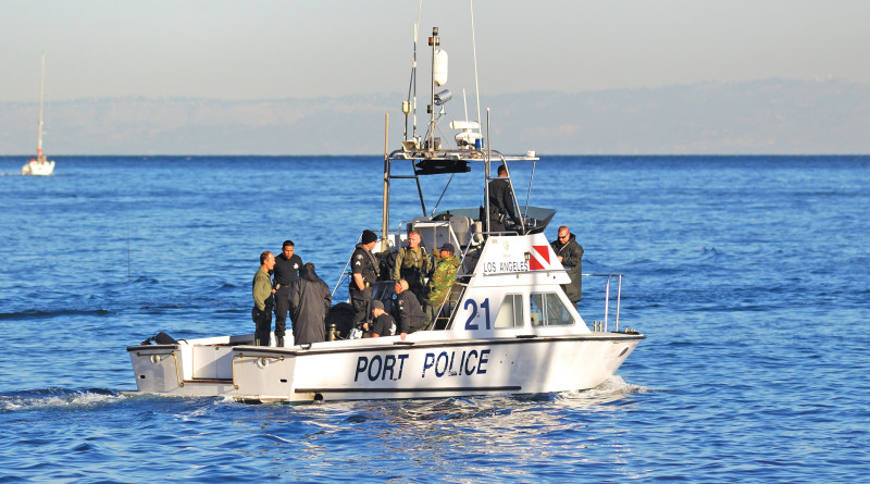 Port Police patrolling the harbor for illegal charters