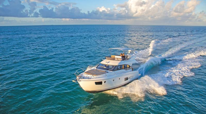 The Bavaria Virtess 420 Fly in Miami FL.