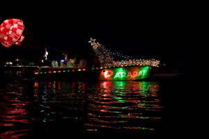 Newport Beach Boat Parade 1st Place Animation