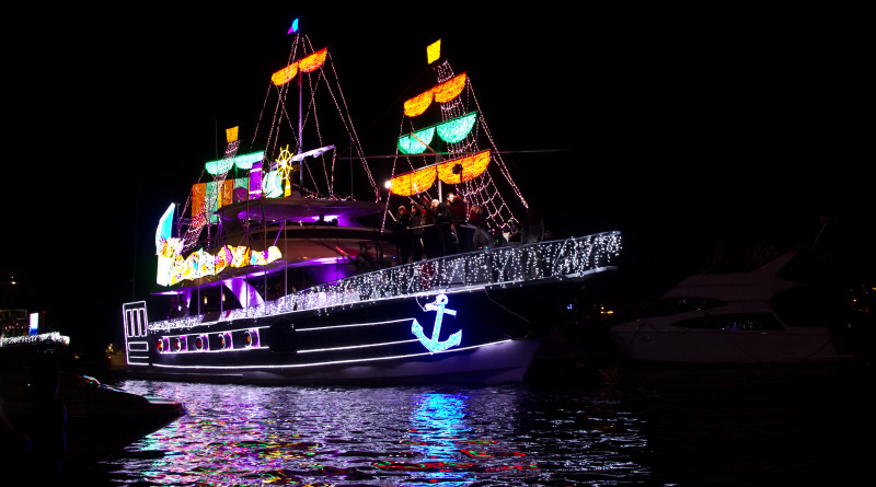 Newport Beach Boat Parade winner Best Powerboat